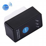 M1 Bluetooth V1.5 OBDII Diagnostic Scanner CAN ELM327 Scan Tool Check Engine Light Car Code Reader with Switch, Supports ISO9141