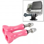 2 PCS TMC HR171 Plastic 5.5cm Thumb Screw for GoPro HERO4 /3+ /3 /2 Cameras(Pink)