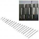 6-23mm Watch Band Watch Fittings Steel Fixing Shaft / Strap Axis Watch Repair Tool