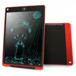 CHUYI Portable 12 inch LCD Writing Tablet Drawing Graffiti Electronic Handwriting Pad Message Graphics Board Draft Paper with Wr