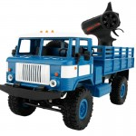 WPL B-24 Full Body 1:16 Mini 2.4GHz 4WD RC Military Truck Control Car Toy (Blue)