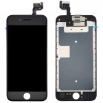 iPartsBuy 4 in 1 for iPhone 6s (Front Camera + LCD (Century) + Frame + Touch Pad) Digitizer Assembly(Black)