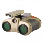 4 x 30 Night Scope/ Binoculars with Pop-Up Light, Size: 123mm x 110mm x 60mm