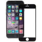 iPartsBuy for iPhone 6 Plus Front Screen Outer Glass Lens(Black)