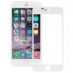 iPartsBuy for iPhone 6 Plus Front Screen Outer Glass Lens(White)