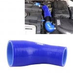 Universal 70-76mm 45 Degrees Car Constant Diameter Silicone Tube Elbow Air Intake Tube Silicone Intake Connection Tube Special T