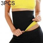 3 PCS NEOTEX HOT SHAPERS Abdomen Belt, Size: M