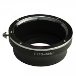 Canon EOS to Micro 4/3 Lens Mount Stepping Ring(Black)