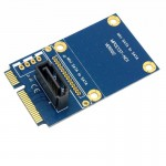 MINI SATA à 7 broches bleu Mini PCI-E Disque dur Carte d'extension - Wewoo