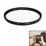 Filtre UV appareil photo noir Kenko Optical 77mm de lentille UV - Wewoo