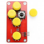 LDTR - WG0076 AD Keyboard Module with Simulate Five Electronic Components for Arduino