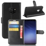 For Samsung Galaxy S9 Litchi Texture Horizontal Flip Leather Case with Holder & Wallet & Card Slots, Small Quantity Recommended